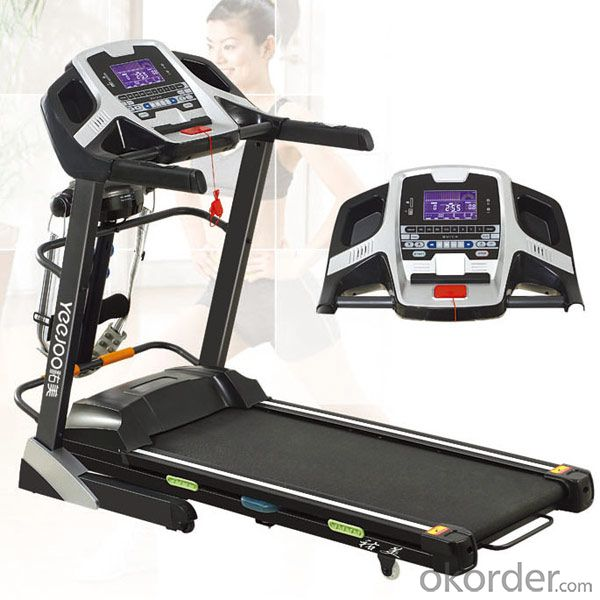 2015 NEWEST DELUXE COMMERCIAL MOTORIZED TREADMILL with touch screenF15