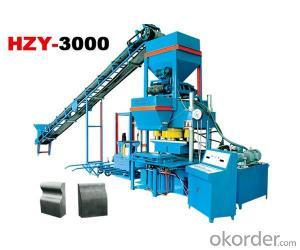Hydraulic single pressure block machine HZY3000