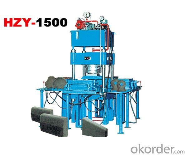 Hydraulic single pressure block machine HZY1500