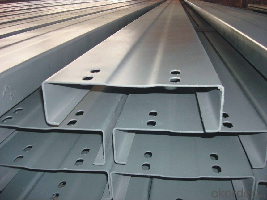 Galvanized C Channel Steel  with High Quality for Sale