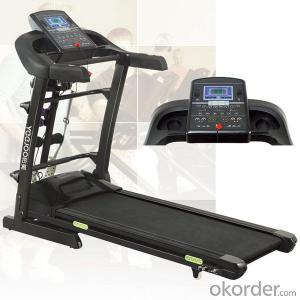 2015 NEWEST DELUXE COMMERCIAL MOTORIZED TREADMILL with touch screen9007DE
