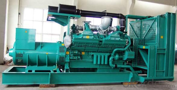 Soundproof Genset Diesel Generator , 35kw To 680kw Cummins Generator