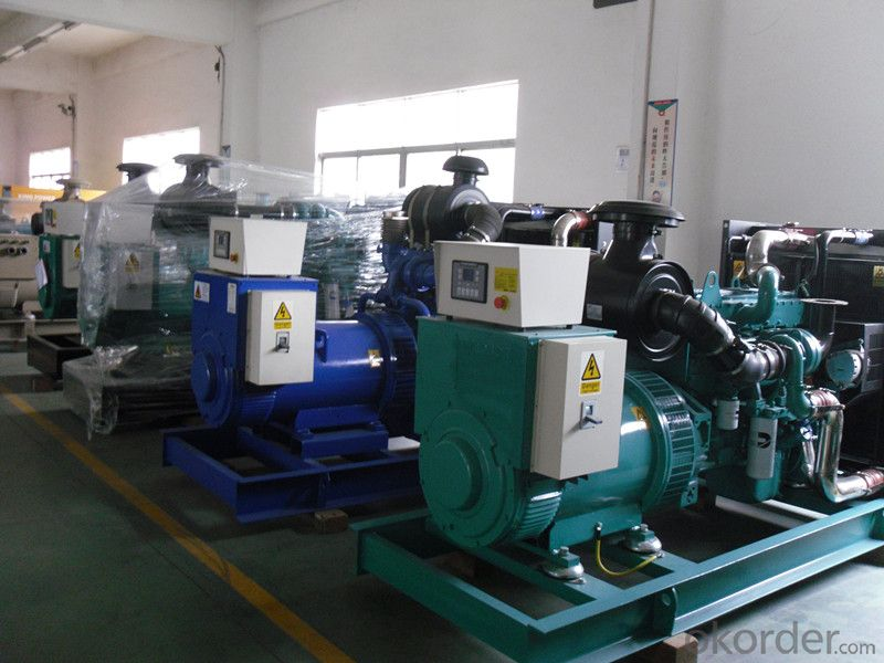 Water Cooled Cummins Genset Diesel Generator 35kw To 680kw With 3 Phase