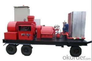 130TJ3 Type Ultra High Pressure Plunger Pump