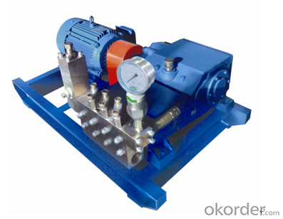 3D1 Type High Pressure Explosion-proof Plunger Pump