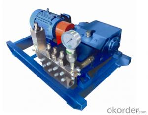 3DK Type Coal Excavation High Pressure Plunger Pump