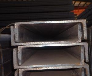 Hot Rolled Mild JIS Standard Steel U Channels for Warehouses