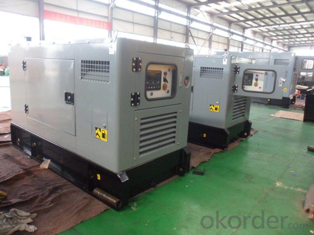 Genset Diesel Soundproof Perkins Generator 20kw 50Hz With Water Cooled Engine