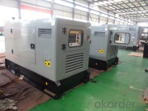 Genset Diesel Soundproof Perkins Generator 20kw 50Hz With Water Cooled Engine