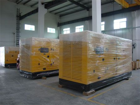 Soundproof Perkins Genset Diesel Generator 80kw With Water Cooled Diesel Engine