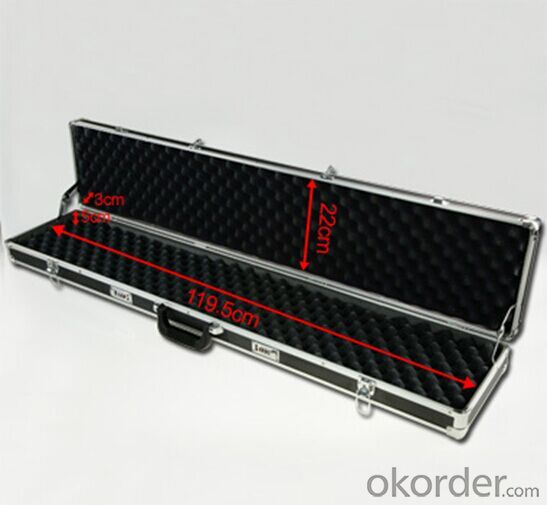 Aluminum Gun Case Safe and Truck Tool Boxes Rifle Case