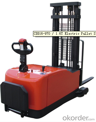 CDD16-970 / 1.6T Electric Pallet Stacker