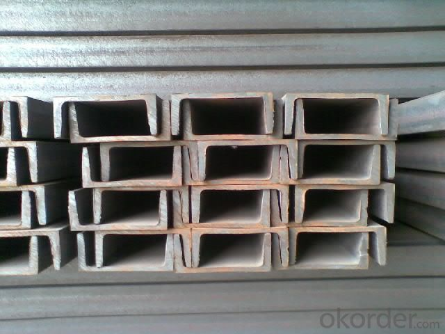 Channel Bar Hot Rolled Mild U Channel Steel Bars
