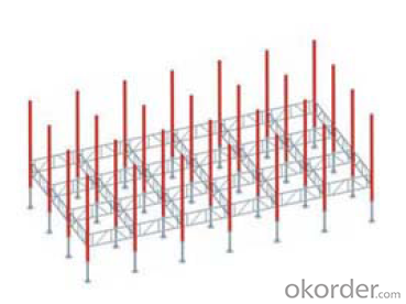 Aluminum Shoring System with High Load Capacity&Low Energy Construction