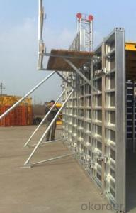 CONSTRUCTION FORMWORK SYSTEM for Whole Aluminum Formwork