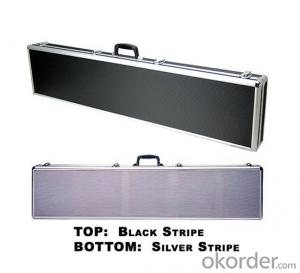 Silver Aluminium Gun Case for Rifle with Shakeproof Foam (BY53)