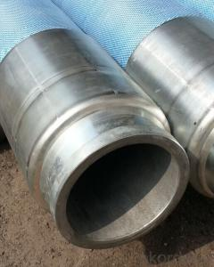 Rubber End Hose With Two Side Couplings Working Pressure 85 Bar 3M*DN100