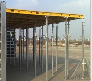 CONSTRUCTION FORMWORK SYSTEM IN Aluminum-Frame Formwor