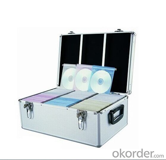 Aluminum Hard Carrying CMAX  CD Caseand Storage Boxes