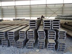 Hot Rolled Channel Steel for Construction Use with High Quality
