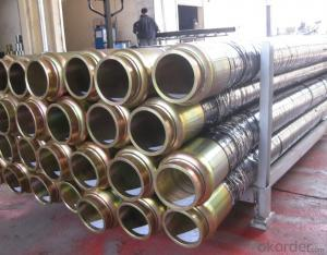 Rubber End Hose With Two Side Couplings Working Pressure 85 Bar 5M*DN100
