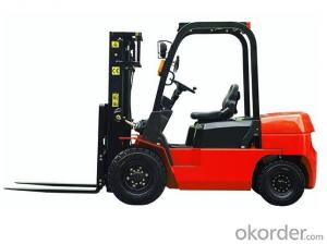 5 Tons Diesel Powered Forklift  product CPCD50F