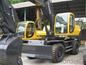 Jonyang Brand Wheeled Excavator JYL621E for Earth Moving