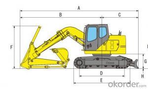 hydraulic   system  Excavator  SH135XU -3B