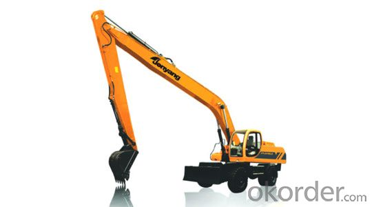 Jonyang Brand Wheeled Excavator JYL621ELD for Earth Moving