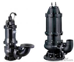 Vertical Submersible Axial Flow / Mixed Flow Water Pump for Storm Station