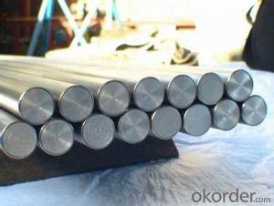 Stainless steel round bar; high quality
