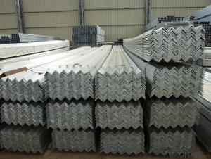 Equal Angle Steel Hot Rolled / Steel Angle Bar /Q235B Angle Size