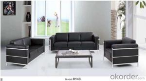 Office Sofa Office Furniture 2015 High Quality Leather Office Sofa 8143