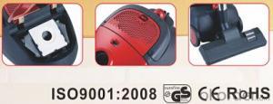 Mini bagged vacuum cleaner with ERP Class C#B615