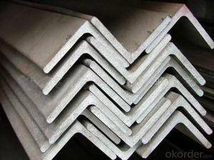 Equal Angle Steel Hot Rolled / Steel Angle Bar /Q235B Angle Size