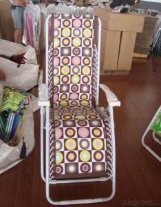 Portable Aluminum  Folding Bed Garden Patio Sleeping and Sitting