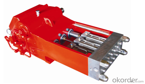 250TJ3 Type Ultra High Pressure Plunger Pump