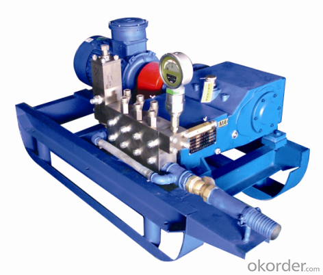 3D2D-S Type Ultra High Pressure Plunger Pump