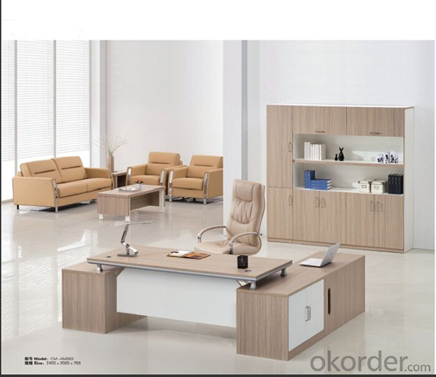 Office  Table  Office MDF Wood Furniture Desk 2015 High Quality CN808