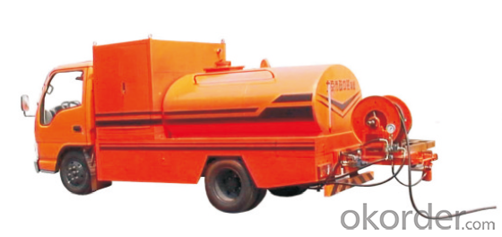 Mobile Sewer Cleaning Machine with High Pressure Pump