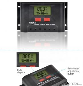 Solar LCD Controller CY20B with the best price