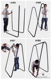 Folding Garden Swing Chair Portable Aluminum Picnic Chair