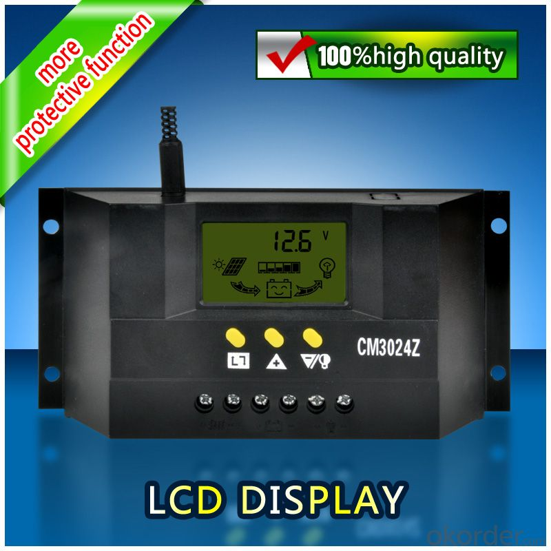 Solar LCD Controller CM3024Z with best price