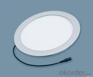 Led Round Panel Light Recessed RA75 Slim Design 24W