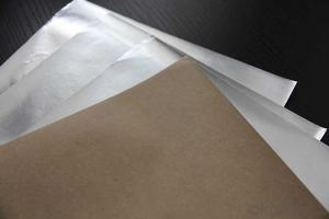 Aluminum Foil Facing Single Side Foil and Paper Foil For Glasswool Insulation