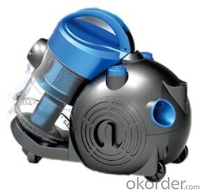 Cute cyclonic style vacuum cleaner with ball wheels#C6250