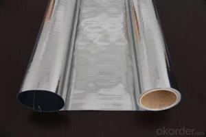 Aluminum Foil Facing, Double Side Woven Foil for Sarking Insulation