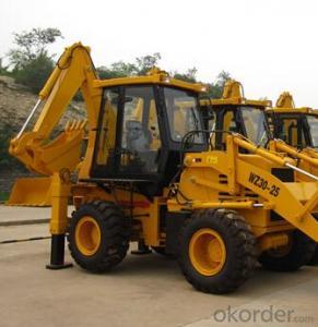 Wheel loader  - Backhoe Loader  WZ30 -25