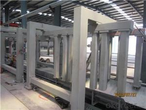 AAC Block Making Machine ISO & CE certificate