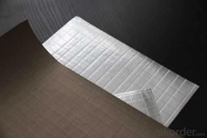 Aluminum Foil Facing, Single Sided Paper Foil for Glass Wool Insulation
